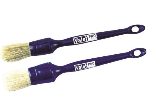 Valet Pro Sash Wheel & Dash Trim Brush SET No. 3 + No.19